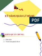 Ky Nang Quan Ly Ho So