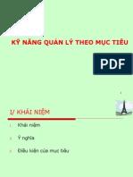 Ky Nang Quan Ly Theo Muctieu (MBO)
