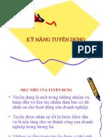 Ky Nang Tuyendung