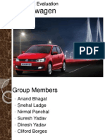 VW Polo Product Evaluation Final