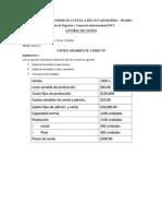 Costeo Directo y Absorbente - Yolanda del Pilar Terán Villalba - 6D