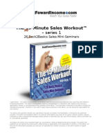 The 15-Minute Sales Workout