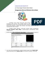 5 Menit Bisa Membuat Video Dengan Windows Movie Maker