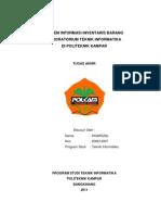 Sistem Informasi Inventaris Laboratorium