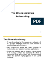 11542_2-Dimensional Arrays and Searching