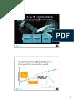 Future of Segmentation - MTA Seminar