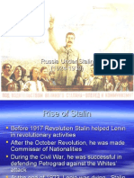 Russia Under Stalin
