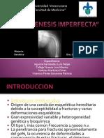 Osteogenesis Imperfect A, Presentacion Simposium