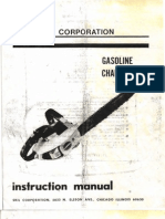Skil 1614 Chainsaw Manual
