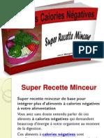 Calories Négatives - Super Recette Minceur