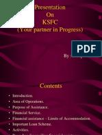Presentation on Ksfc