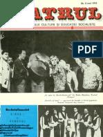 Revista Teatrul, nr. 5, anul XIX, mai 1974