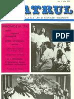Revista Teatrul, nr. 7, anul XIX, iulie 1974