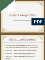 College Preparation