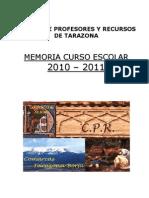 Memoria CPR TARAZONA