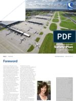 CAA Safety Plan 2011 to 2013