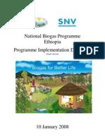 2008 01 10 FINAL Programme Implementation Document NBP Ethiopia