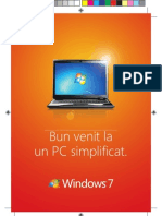 Manual Utilizare Windows 7