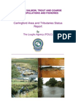 Car Ling Ford Area and Tributaries Catchment Status Report