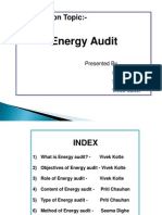 Energy Audit Ppt