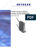 Netgear Dgn2200 Modem Router User Manual