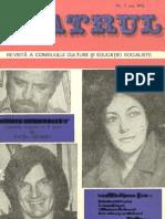 Revista Teatrul, nr. 5, anul XXI, mai 1976