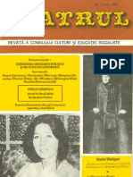 Revista Teatrul, nr. 6, anul XXI, iunie 1976