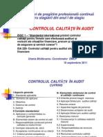 Controlul Calitatii in Audit2011-Urania Moldovanu