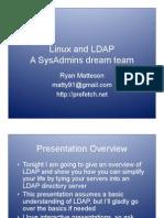 Linux Ldap Authentication