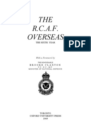 RCAF Overseas Vol3 e | Royal Canadian Air Force | Raf Bomber Command