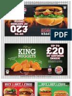 Burger King Voucher