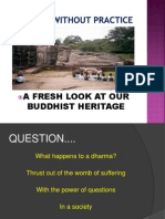 Alternative History of Buddhism in Sri Lanka