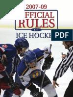 Hockey Rule Book 07-09
