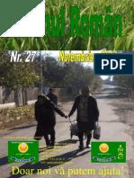 Revista Taranul Roman, Nr.27, Noiembrie 2011