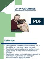 Loyalty Programmes
