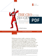 The CEO of the 21st Century by Mark Goulston