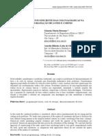 Reordenamento eficiente das colunas básicas na programação de lotes e cortes