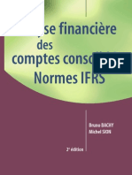 Analyse financière des comptes consolidés Normes IFRS