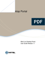 Live Desktop Portal User Guide