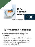 Is for Strategic Advantage
