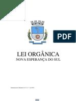 Lei Organica News