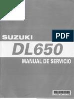 Manual en español Vstrom650 K4