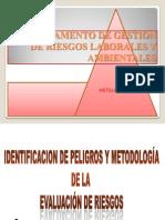 Identificacion de Peligros y Ev. Riesgos Mtcv