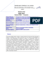 Direitos de Personalidade ECA - Relatório Final