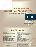 Intelligent Naming System_Shweta Mittal