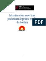 Internationalizarea Unei Firme are de Produse Petroliere Din Romania
