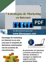 7 Estrategias de Marketing en Internet