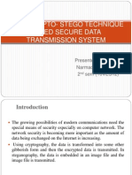 An Encrypto- Stego Technique Based Secure Data