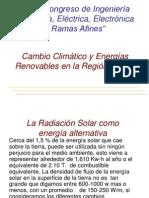 cambio climático y energías renovables en el perú