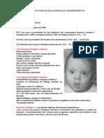 Fenotipos+Clinicos+Anomalias+Cromossomiais